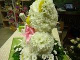 Мишка из цветов от YANA FLOWERS!