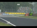 GP2 2012 Italy Practice Calado Crash