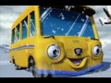 Говорящие автобусы: Как Сэмми ездил по снегу. 13 серия