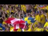 ЧЕ 2012 Швеция - Англия (Олоф Мельберг 2-1)