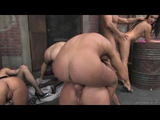 Aletta Ocean, Angelica Heart, Bailey, Cassey, Chanel, Kinga, Mela (Mad Sex Party Back Alley Bangers 4)