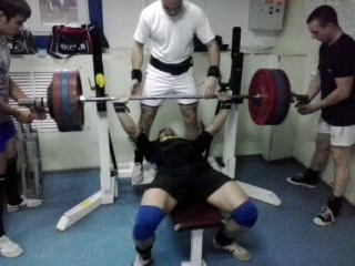 мой жим 195 кг