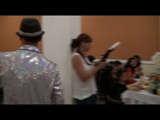 Мунир Рахмаев на свадьбе Дениса и Алины
