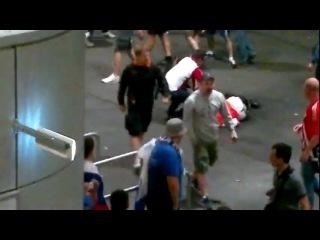 ЕВРО 2012 08.06.2012 Россия — Чехия. Траблы на матче
