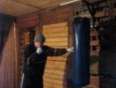 Бокс - прямые удары левой и правой в голову из стойки (Сергей).