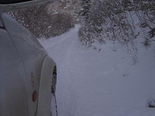спуск с горы Быкова (4 ноября 2009 г)