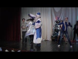 Новогодняя танец-сценка