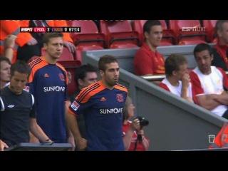 Товарищеский матч 2012 / Ливерпуль (Англия) - Байер (Германия) / 2 тайм
