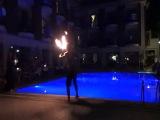 Турция,город Кемер! Отель АСТОРИЯ 24.05.13 Огненное шоу !!! диджей Raki !!!