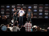 UFC 155: Дос Сантос - Веласкес стердаун на пресс-конференции