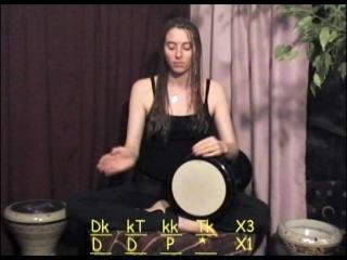 Raquy Danziger - дарбука. Обучающее видео. Поп