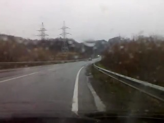 ДТП грузового Мерседеса на трассе Киев-Чоп, неподалеку от Мукачева