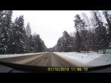 Можайское шоссе - очень красивая зимняя дорога!