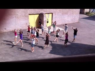 Христианский флэшмоб (репетиция)