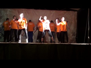 Танцевальная пародия. 2 отряд