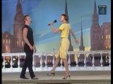 КВН Юрмала (1999) - Сборная Санкт-Петербурга - Мастер-класс Андриса Лиепы и Михаила Барышникова