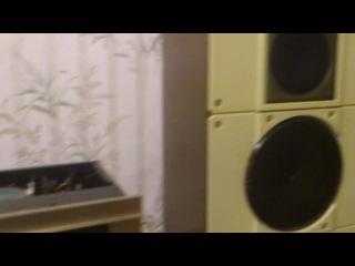 Стереосистема мощник Luxman M150 пред Radiotehnika 001 колонки xUSSR S50B