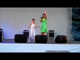 Arina Badulescu si Victoria Lungu O inima se - mi dai Hram la Stefan Voda - Live