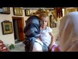 Крещение Никиты под музыку Вера Дворянинова - Мамин сыночек. Picrolla