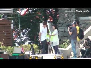 [FANCAM] Suzy with Junho & Chansung (2РМ) | Touch Korea Gourmet Tour