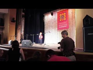 Слезкин Иван на фольклорном фестивале