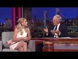 Sarah Michelle Gellar interview on David Letterman