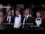Kristen Stewart, Kirsten Dunst, Viggo Mortensen - On The Road Red Carpet - Cannes 2012 - FashionTV