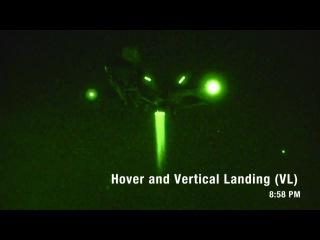 First F-35B Night Vertical Landing