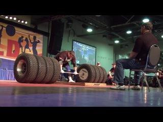 Мировой рекорд - становая тяга 506 кг