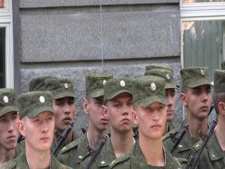 Присяга 31.08.13 Военная академия связи им. Буденного Спб