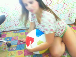 Inflatable ball (voyeur cam)