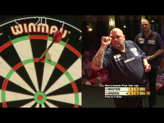 Scott Waites vs Robbie Green (Winmau World Masters 2013 / Quarter Final)