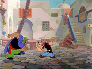 Моряк Попай - Popeye the Sailor - 55 - Popeye the Sailor meets Ali Baba's Forty Thieves