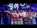 [PERF] SNSD - [091225] KBS2 Music Bank - Annual MVP Acceptance Award Speech, Encore
