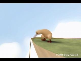 Pixar - kiwi(киви) жизнь за мечтуi - мультик про маленькую птичку киви которая хотела осуществить свою мечту