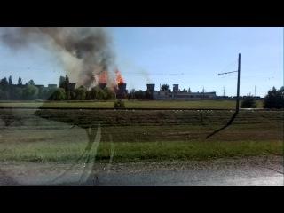 Пожар Мозырьский комбинат Этанол