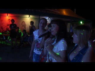 караоке в Урзуфе 2012