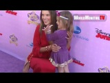 Alessandra Ambrosio and Anja Mazur arrive at Sofia The First: Once Upon A Princess
