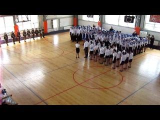 выступление на городском конкурсе,122 школа, 10-2 класс (1 место)