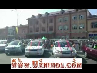 Атошоу Уз-Дэу в Андижане 2Uz-Daewoo auto show in Andijan 2Andijonda Uz-Daewoo shoui 2