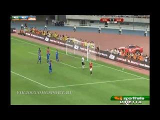 SHANGHAI SHANHUA 0-1 MANCHESTER UNITED Full highlights/25.07.2012