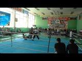 Чемпионат г.Волжского. Лоу- кик 60 кг. Финал Уразов- Дьяков