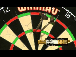 Stephen Bunting vs Wesley Harms (Winmau World Masters 2013 / Last 16)