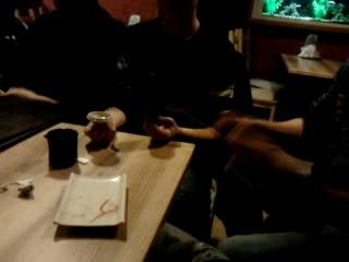 В суши-баре снова о.о То же место и время