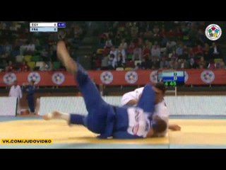 2013 Judo Grand-Prix Samsun (-90kg Repechage) Mohamed DARWISH (EGY) - Axel CLERGET (FRA)