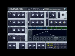 Fat Reese Bass in Massive Tutorial (free Presets & VJ Clips included)