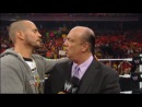 Backstage Fallout Raw - Heyman reacts to Punks exit - 15.04.2013