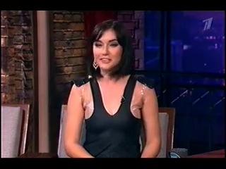 Саша Грей на Первом в программе Вечерний Ургант