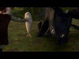 Как приручить дракона - рекламный ролик премьеры фильма на Первом Канале