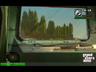 GTA Криминальная Россия. Езда на локомотиве 2ТЭ-116